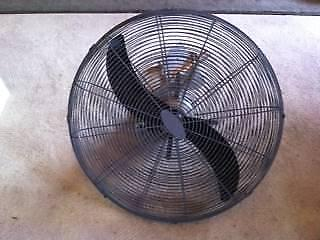 Industrial 75cm Wall Fan X2 Air Conditioning Heating Gumtree