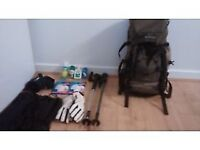 Airtrek 35L Backpack with extras