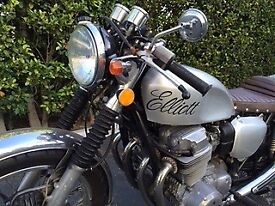 Elliott, 1974 Honda CB 750 Café Racer, by Yoshi, Los Angeles
