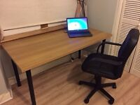 Desk & Office Chair - Ideal for home working or study. Both in great condition