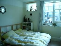 Lovely Light Double Bedroom Near Sea with Fitted Wardrobes