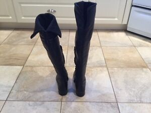 Marco Ferretti Knee High Leather Winter Boots size 6.5 West Island Greater Montréal image 3