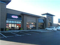Newer retail/office unit with free parking available immediately