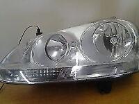 vw golf mk5 headlight for sale