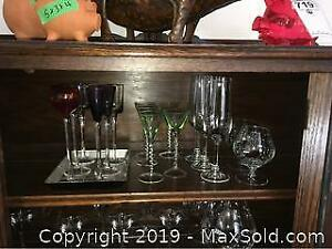 Mixed Glassware A