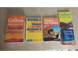 Spanish: Dictionaries, Phrasebook, Spanish Vocabulary, Bescherelle