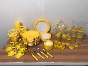 Set de vaisselle de Patio Melamine haute gamme