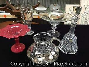 Vintage Crystal and Glass