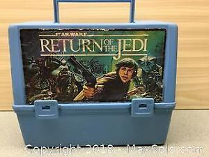 Star Wars Return Of The Jedi Vintage Lunchpail A