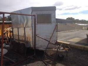 Old double horse float used as box trailer, licensed and working Medina Kwinana Area Preview