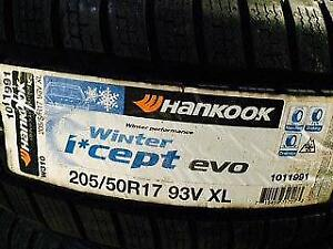 SALE Brand New Winter tires Hankook Icept evo 205/50R17