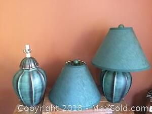Two Table Lamps A