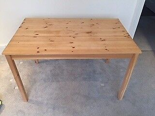 Wood Kitchen Table for Sale