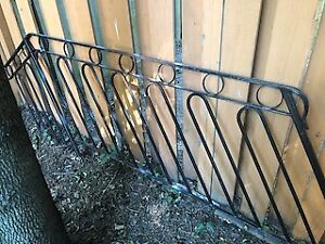 6 ' Wrought iron fence