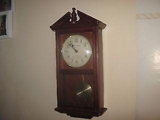 Daniel Dakota Quartz Westminster Chime Wall Clock