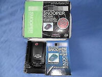 speed camera detector snooper sd715 is like new in box swap not free