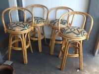 Bamboo Bar Stools/Chairs