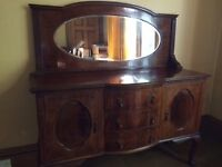 Old Style Sideboard with mirror