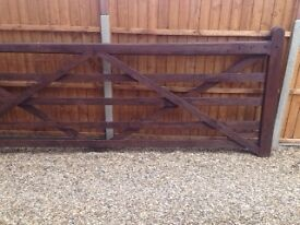 Gate for Sale (10 ft farm gate ).