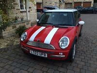 MINI COOPER 2003, 72k miles, MOT Oct 2017