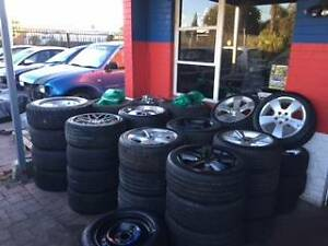 RIMS AND TYRES HOLDEN/FORD/NAVARA/RANGER/NEW AND SECOND HAND Maddington Gosnells Area Preview