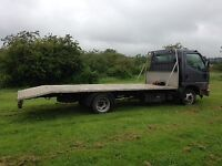 Mitsubishi Canter 35 recovery truck