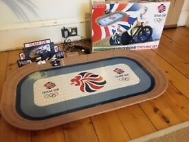 Scalextric Team GB Velodrome Cycling Set- Nearly New Condition