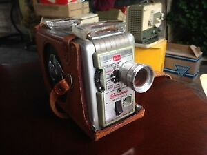 """Antique """"Brownie"""" 8mm camera and projector"""