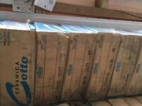 Cotto Premium Ceramic tile, Colour Cement Sage 1 box = 1 sm2, upto 32 boxes available