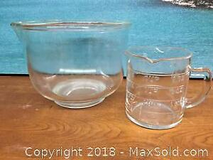 Mixing Bowl Measuring Cup