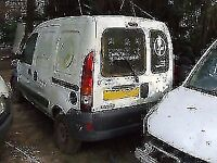 RENAULT Kangoo 1.9dci rear door Breaking for parts IN Gatwick AREA