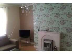 2 bed ground floor flat with front and back garden Whitehill/ Burnbank area.