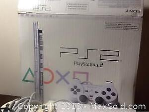PlayStation 2 Ceramic White Model