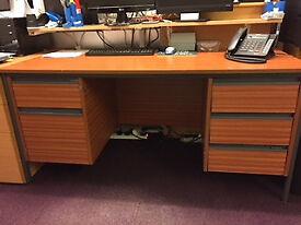 5 drawer Desk for sale