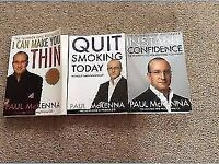 3 X Paul McKenna Books