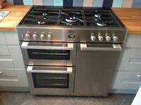 Belling DB4 90FT Professional dual fuel range cooker immaculate condition