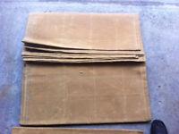 Waterproof Canvas Tarpaulins - 100% cotton