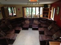 couches- 10 seater sectional
