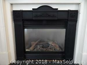 Gas Fireplace Insert. C