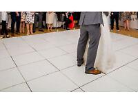 18ft x 18ft interlocking Acrylic dance floor