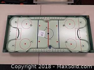 1950s Original 6 Eagle Toys Table Hockey Game - B