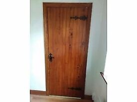 7 dressed cottage doors