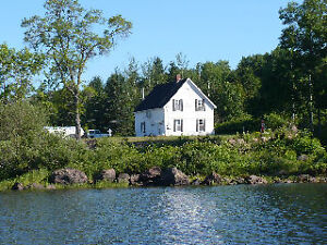 Home/cottage for sale with private access to waterfront/boating