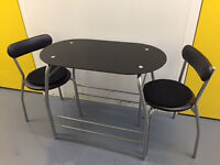 2 Seater Dining Table & Chairs