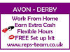 Join AVON Derby here - Work from home - Earn extra cash - Immediate start - Brochures Derby