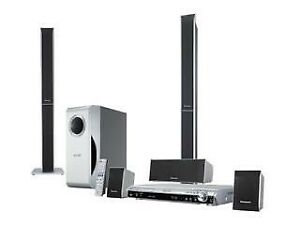 Panasonic SC-HT540 surround sound system, 8 pcs
