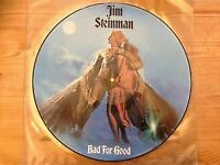 """Jim Steinman - Bad For Good - 12"""" Picure Disc"""