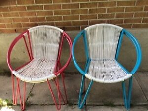 Patio Chairs Set of 4