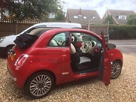 Fiat 500 Convertible 1.2L Petrol Excellent condition
