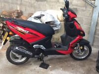 Lifan 49cc Scooter hardly used